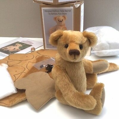 £30 • Buy Teddy Bear Sewing Kit. Traditional. Jointed. English Mohair
