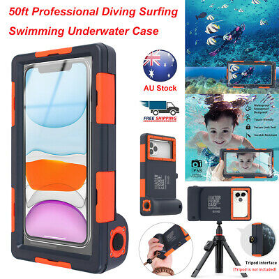 AU47.85 • Buy 50ft Waterproof Diving Case Underwater Camera Cover For IPhone 12 11 Samsung S21