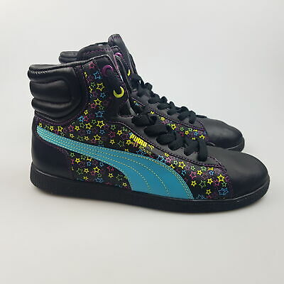 AU59.99 • Buy Women's PUMA 'First Round' Sz 7.5 US Shoes Black As New Mid   3+ Extra 10% Off