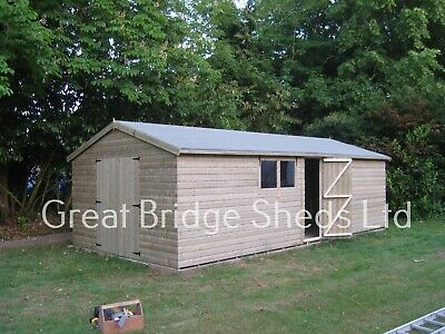 £3000 • Buy 24x12 Apex Shed/ Work Shop  (pressure Treated)