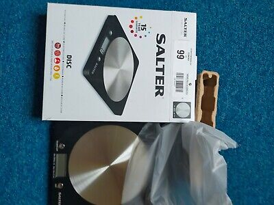 £8 • Buy Salter 1036BKSSDR Kitchen Scales, Digital/electronic Weighing Scales