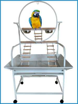 £109.99 • Buy Texas Giant Macaw Parrot Play Stand - White - For Medium & Large Parrots