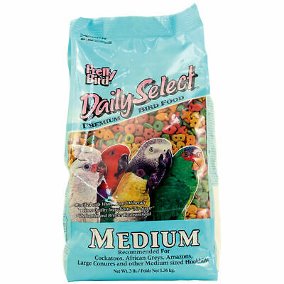 £16.99 • Buy Pretty Bird Daily Select Medium Complete Parrot Food - 3lb