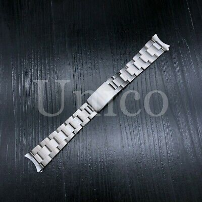 $ CDN27.52 • Buy Oyster Watch Band Bracelet For Rolex Oyster Perpetual Explorer 20mm Satin Steel