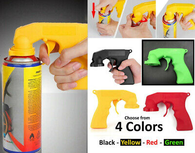 £4.99 • Buy 1 PC Portable Aerosol Spray Gun Can Handle With Full Grip Trigger For Painting