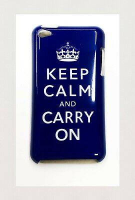 £4.45 • Buy CASE FOR Ipod Touch 4th Generation Hardshell Back Cover (KEEP CALM AND CARRY ON)