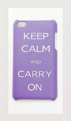 £4.45 • Buy CASE For Ipod Touch 4 Generation Hardshell Back Cover (KEEP CALM AND CARRY ON)