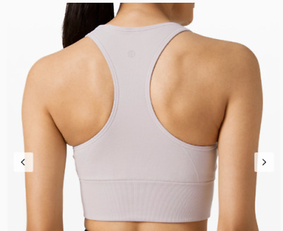 $ CDN110.78 • Buy Lululemon NEW WITH TAG MOST POPULAR HARD-TO-FIND Ebb To Train Bra (ICDI) Size 12