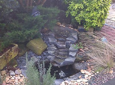 £284.99 • Buy Garden Pond Water Features Rockways FGS1 & FGS2 & Small Slate Pond Combination.
