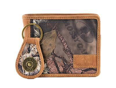 $19.99 • Buy Mossy Oak Camouflage Bifold Wallet With Keychain Boxed Gift Set Camo