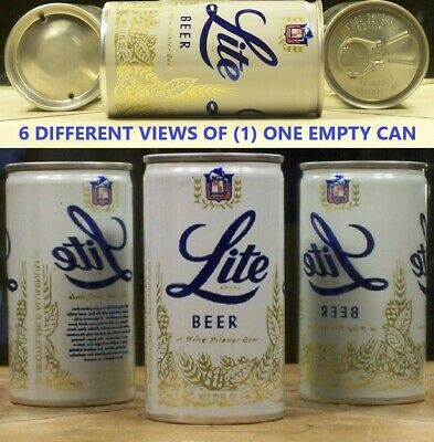 $3.49 • Buy Lite Beer 12 Ounce  P/T Can Miller Milwaukee Wi Azusa Ca & Fort Worth Texas 97F