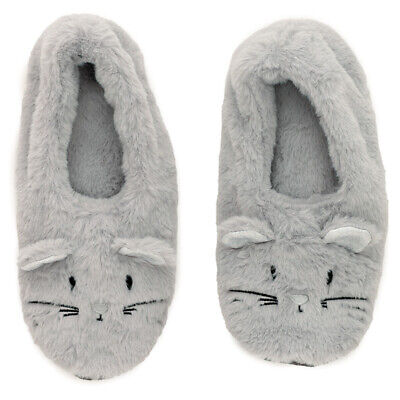 £18.99 • Buy Toesties Heat Wheat Pack Warmer Slippers - Mouse Grey Unisex NEW UK