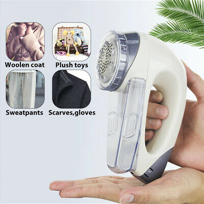 £6.59 • Buy Large Electric Clothes Fuzz Off Lint Remover Bobble Fluff Fabric Shaver