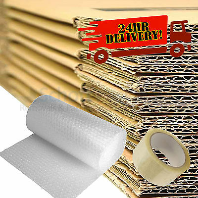 £23.50 • Buy 20 LARGE MOVING BOXES Double Wall Cardboard Box NEW ✔ Removal Packing Shipping ✔