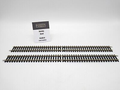 £9.99 • Buy Hornby Track R601 Double Straight (2 Pieces) - Used Very Good Condition