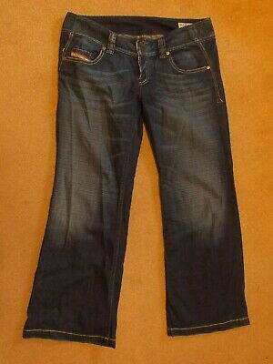 £17.99 • Buy Vintage Diesel Lambry Mid Rise Embroidered Jeans 12S W28 L30 Bootcut Flare