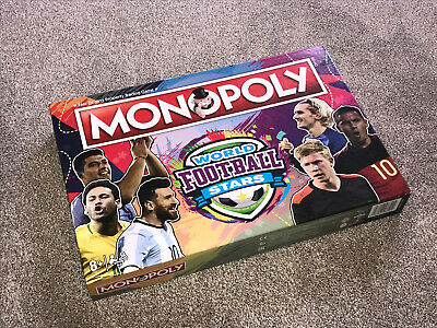 £19.95 • Buy Monopoly Game : World Football Stars 2019 Edition - In Vgc  (free Uk P&p)