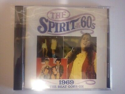 £19.99 • Buy Spirit Of The 60s, 1969 Beat Goes On, 24 Track CD New But Not Sealed Time Life