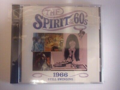 £18.99 • Buy Spirit Of The 60s, 1966 Still Swinging, 24 Track CD New But Not Sealed Time Life