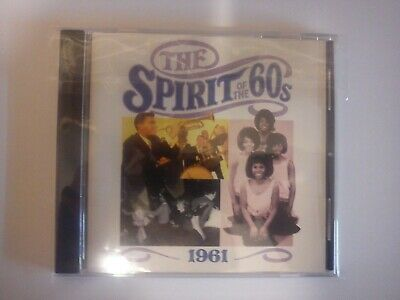 £24.99 • Buy Spirit Of The 60s, 1961, 24 Track CD New But Not Sealed Time Life