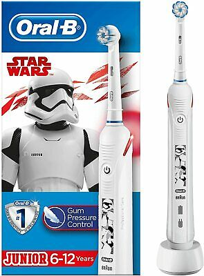 AU64.15 • Buy Oral-b Kids Junior Electric Rechargeable  Star Wars Toothbrush - Hardly Used #1