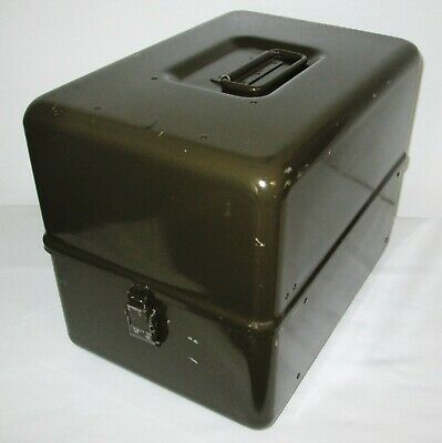 $35 • Buy US Military Sturdy Aluminum Storage Case Box Container 9-1/4  X 13-1/2  X 11