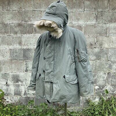 $44.49 • Buy Vintage Extreme Cold Weather Parka Jacket Type N-3B XL Military Centre Mfg