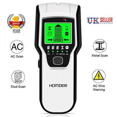 £18.18 • Buy 5in1 LCD Stud Wood Wall Center Finder Scanner Metal AC Live Wire Detector Finder
