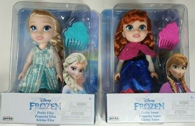 £29.99 • Buy Disney Frozen Petite Anna & Elsa Toddler Dolls Come Play With Me