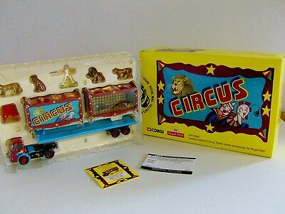 £39.99 • Buy Corgi Diecast Limited Edition Circus Trailer By Royal Mail