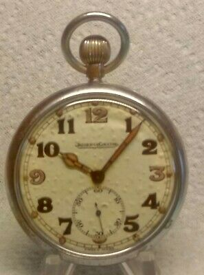 £225 • Buy WW2 BRITISH MILITARY Jeager-LeCoultre 467 / 2 Pocket Watch  1940s FULLY Serviced