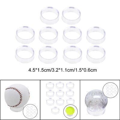 £2.41 • Buy 10 PCS Transparent Display Stand Sphere Holder For Crystal Ball Marbles Base