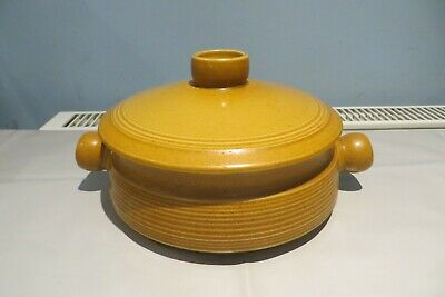 £10 • Buy Langley Denby Stoneware Mustard Tureen Serving Dish With Lid Canterbury