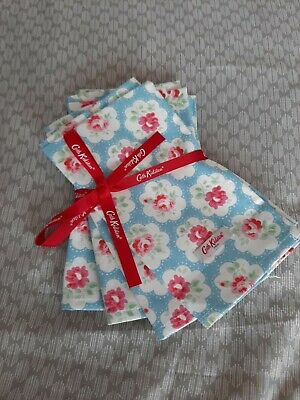 £16.99 • Buy Cath Kidston Set Of 4 Blue Provence Rose Napkins........brand New With Tags