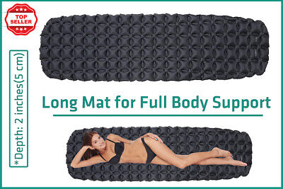 £35.47 • Buy Camping Sleeping Mat Air Bed Mattress Lightweight Pad Travel Bed Easy Inflate