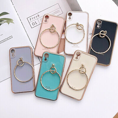 AU13.08 • Buy Shockproof Back Case Cover With Pull Ring For IPhone 12 11 Pro XS MAX XR 78 Plus