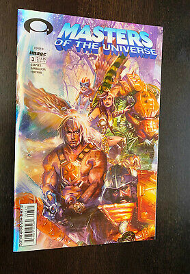 $7.99 • Buy MASTERS OF THE UNIVERSE #3 (Image 2003) -- HOLOFOIL Variant -- NM- Or Better