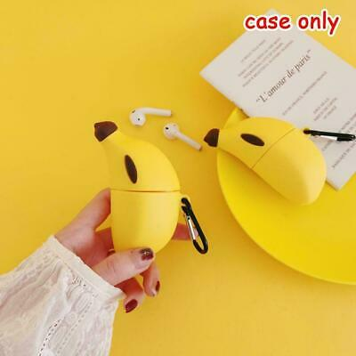 $ CDN5.51 • Buy Cute 3D Banana AirPods Silicone Case Protective Cover For AirPod 1/ 2 V9B8