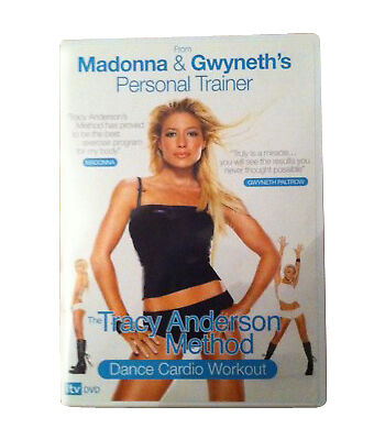 £18.99 • Buy Tracy Anderson Method Dance Cardio Workout Exercise Fitness DVD FREE SHIPPING