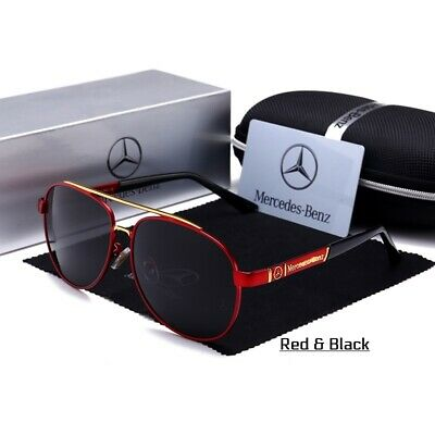 £28.81 • Buy Mercedes-Benz Style Polarized Sunglasses IN STOCK!