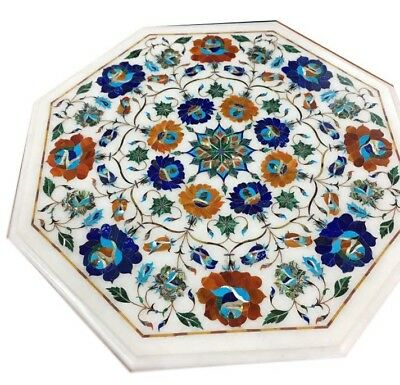 £280.30 • Buy 18  Marble Table Top Inlay Mosaic Marquetry Art Home Decor