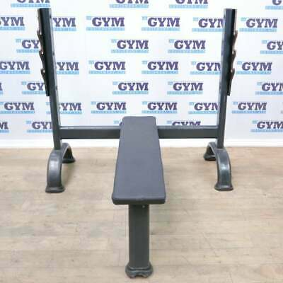 £279 • Buy Used Force Flat Olympic Bench (Commercial Gym Equipment)