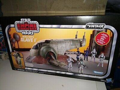 $ CDN259.67 • Buy Star Wars The Vintage Collection Boba Fett's Slave 1 - Brand New, Sealed In Box