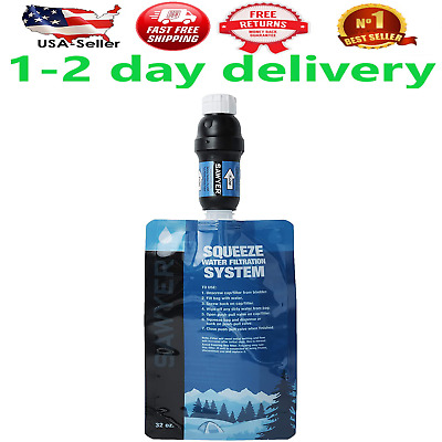 AU52.52 • Buy Sawyer Products Squeeze Water Filtration System