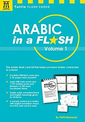 £13.05 • Buy Arabic In A Flash Kit Volume 1: A Set Of 448 Flash Cards With 32-page Instructio