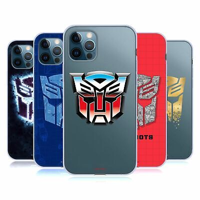 £14.95 • Buy OFFICIAL TRANSFORMERS AUTOBOTS LOGO ART GEL CASE FOR APPLE IPHONE PHONES
