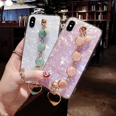 AU13.39 • Buy Girl's Luxury Marble Pattern Case Cover For IPhone 11 12 Pro Max XS XR 7 8