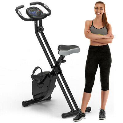 £59.99 • Buy Folding Exercise Bike  Fitness Workout Bicycle Cycling Home Gym Training X Bike