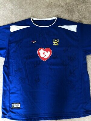 £100 • Buy Signed Official Portsmouth FC Football Shirt - Excellent Condition