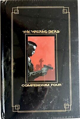 £99 • Buy The Walking Dead Compendium Vol 4 GOLD FOIL Hardcover Book #145-193 Sealed